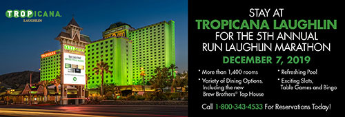 laughlin half marathon tropicana hotel