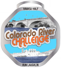 Colorado River Challenge Medal